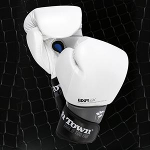 PunchTown BXR eX White Boxing Gloves